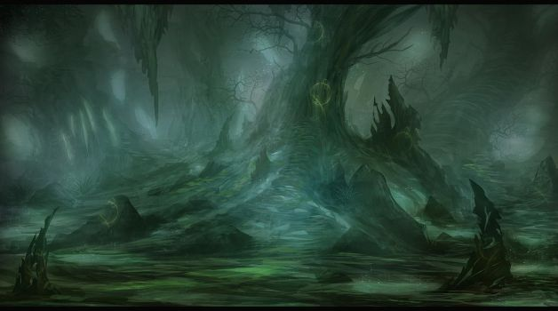 Tree Of The Ancients by Narandel