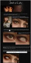 Spooky Eyes - Tutorial by faint-artist