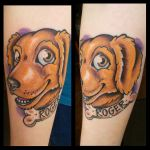 roger the dog by CraftyTibbles