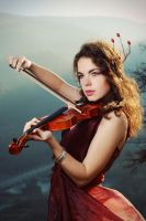Violin Fantasy by TheRaPhotography