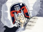 Sketchbook Dredd by JimCampbell