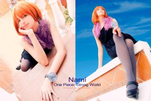 Nami - One Piece: Strong World by Shirokii