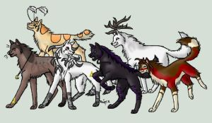 .:The Darkness Wolven crew:. by Purplekitty101