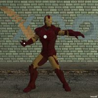 XNA Iron Man mark 3 by X-N-A