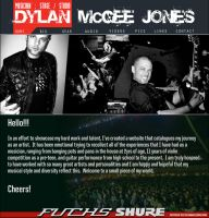 Dylan McGee Jones website by DukeDalton