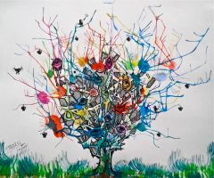 The Tree of Shattering Perceptions by ontopofrealityart