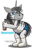 Thunderlance by LordDominic