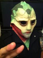 Thane Krios - Mask Complete, WIP 2 by ManticoreEX