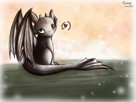 :Toothless: I A M C U T E by sunshineikimaru