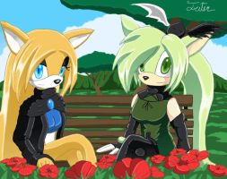 C-E, Sylvia and Green by Athena-Tivnan