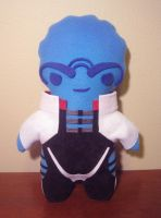 mass effect aria plush, chibi style! by viciouspretty