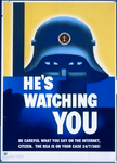 He's Watching YOU! by poasterchild