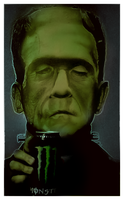 FRANKENSTEIN'S MONSTER by BUMCHEEKS2