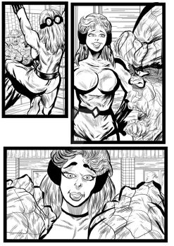 Fantastic Four Sequential  Sample artwork page 7 by brianrobinson