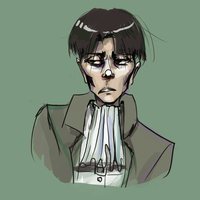 Levi Doodle by froggyk