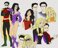 DC: Damian's Honeys by Shuggie