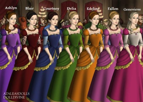 Barbie and the 12 Dancing Princesses: Older Sister by thegirlfriend4you
