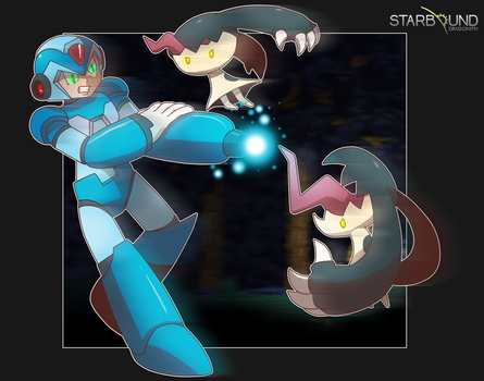 Mega Man X Starbound by Dragonith