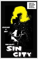 Sin City Poster Nancy by mrhobo87
