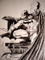 The Dark Knight by myconius