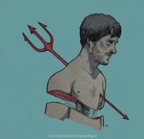 Hannibal : Will Graham : more fish boy by 666solitaryman
