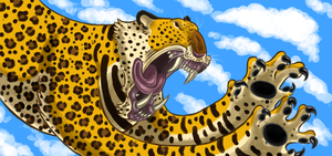 Leopard by Sontine