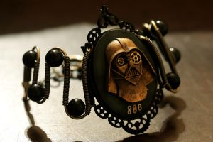 Steampunk Darth Vader Bracelet by CatherinetteRings