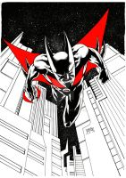 Batman Beyond by FrozenHRT