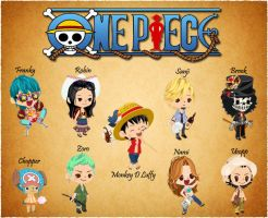 One Piece Characters by mcann19