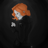Commission - Black Widow by Raithe