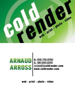 CR Business Cards - Arnaud by leviasay