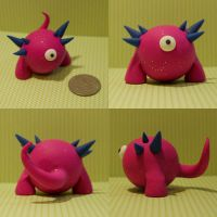 Jett the Timid Monster by TimidMonsters
