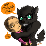 Hannibal Werewolf AU - Ask the Alpha male! by FuriarossaAndMimma
