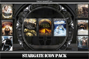 StarGate Icon Pack by FirstLine1