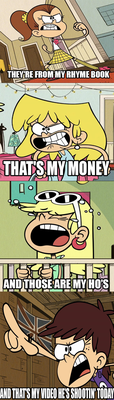 Loud House GTA Reference by alienhominid2000