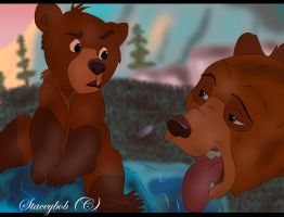 Brother Bear In Colour by Staceybob