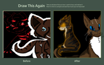 Redraw Contest: Hawkfrost by Meepalso