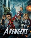 The Avengers by Xiaoyu85ve