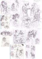 Sketch Dump 09012012 by cherubchan