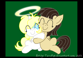 Dreamstar and Wild Fire - Hug Day is Everyday! by TarriPup