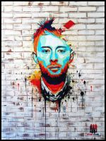 Thom Yorke: The Eraser by MrWormBrain