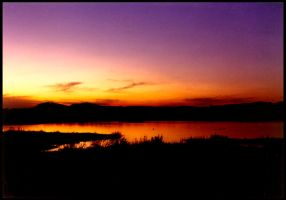 Sunset 2 - Africa by besok
