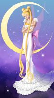 Princess Serenity by YEEEEEES
