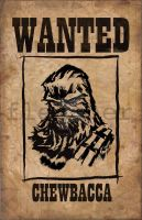 chewbacca by mjfletcher