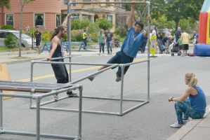 Summer Days Street Fair,Brave the Pole  Swinging2 by Miss-Tbones