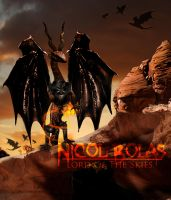 Nicol Bolas, Lord of the Skies by Eldunayri