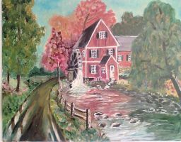old mill by greenbaypara