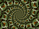 Glyphic/Logarythmic Spiral by fraxialmadness3