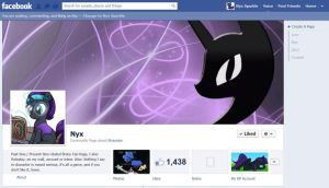 New Nyx Facebook Fanpage by NyxSparkle