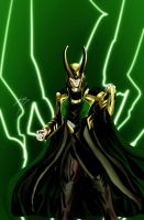 Loki by DStevensArt
